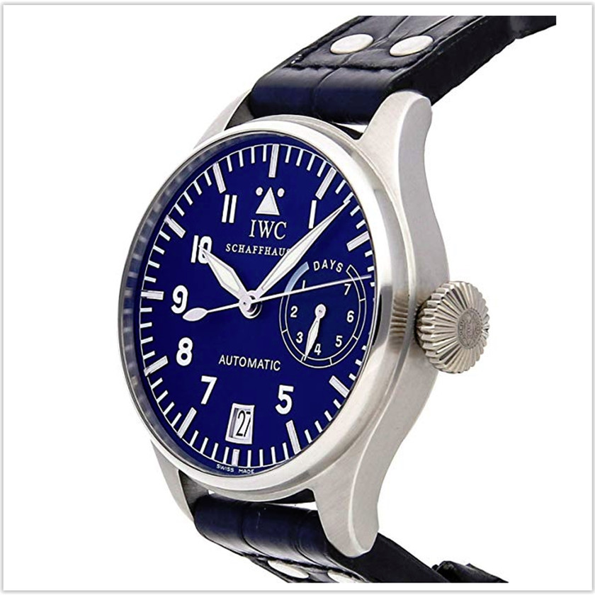 IWC Pilot Mechanical  Blue Dial Mens Watch