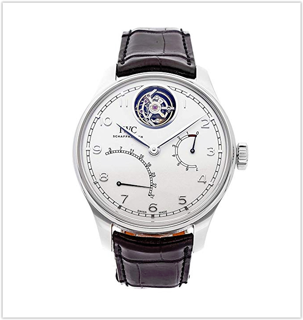 IWC Portugieser Mechanical (Automatic) Silver Dial Men's Watch best price