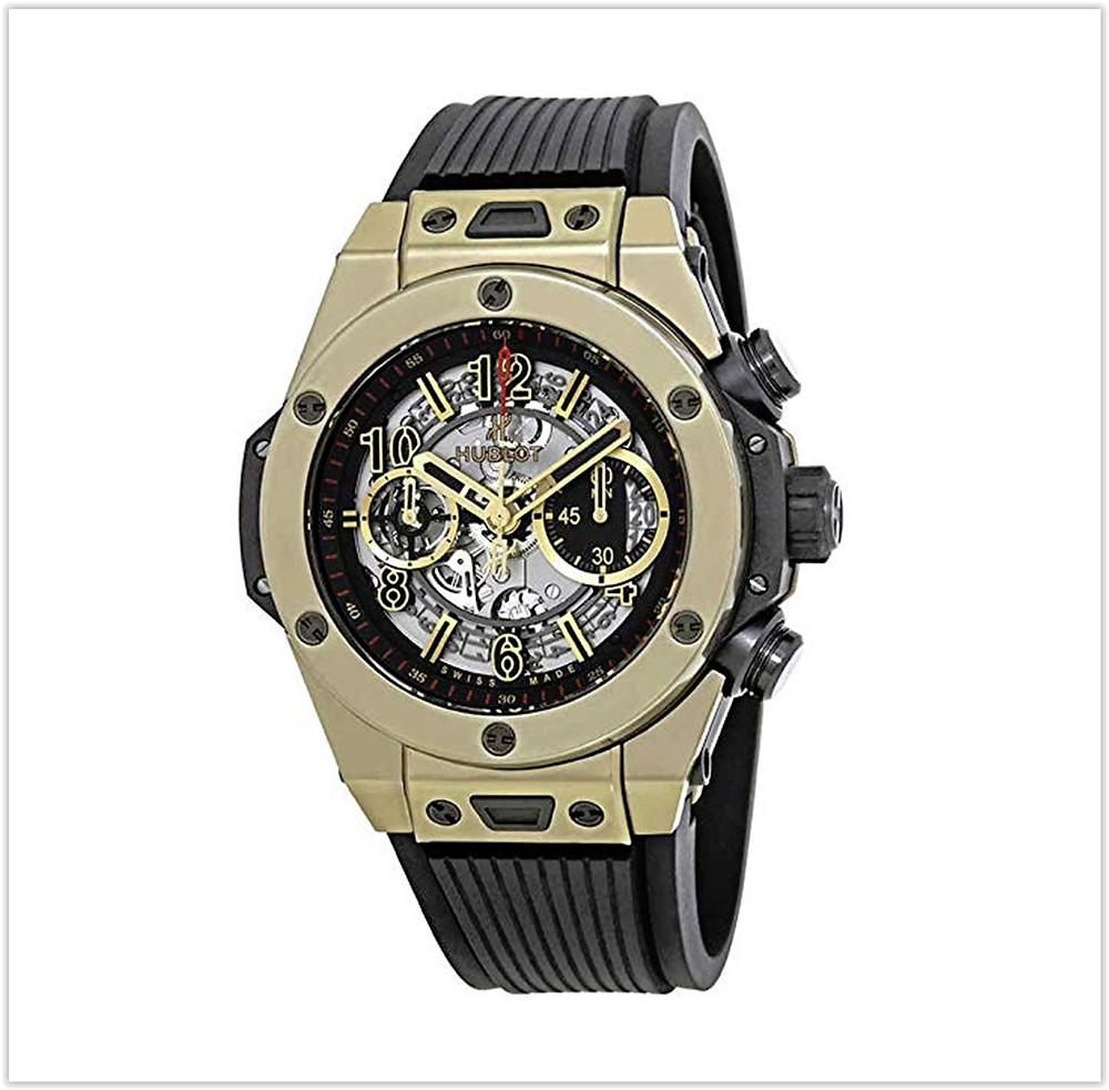Hublot Big Bang Unico Full Magic Gold Skeleton Dial Limited Edition Men's Watch