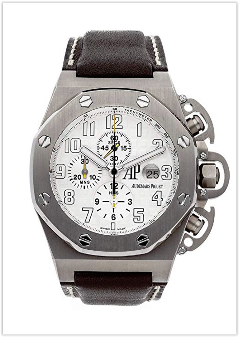 Audemars Piguet Royal Oak Offshore Mechanical (Automatic) White Dial Men's Watch Price