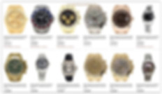 Used watches online store