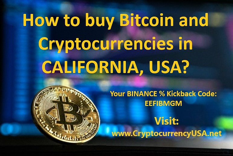 How to buy Bitcoin and cryptocurrencies in California, USA??