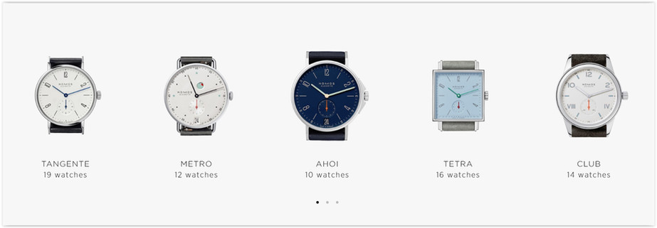 The Nomos Online Store