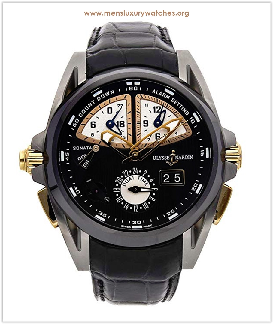 Ulysse Nardin Sonata Mechanical (Automatic) Black Dial Men's Watch the best price