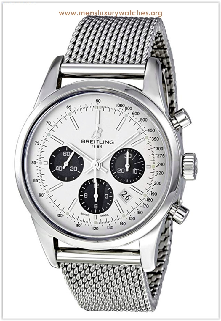 Breitling Transocean 01 Silver Dial Men's Watch Price