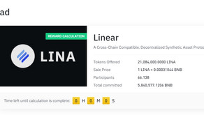 Linear Finance (Lina) Listed on Binance, How to get Lina coin?