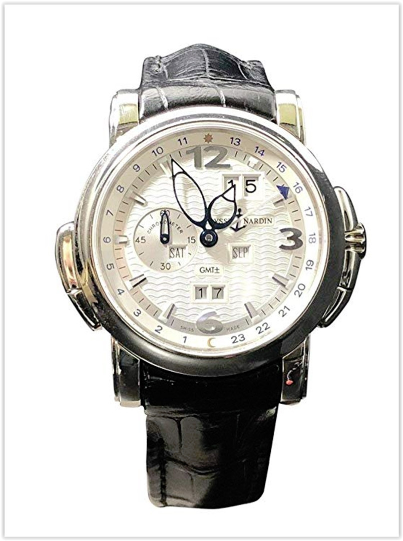 Ulysse Nardin GMT Perpetual 18KT White Gold Men's Watch price