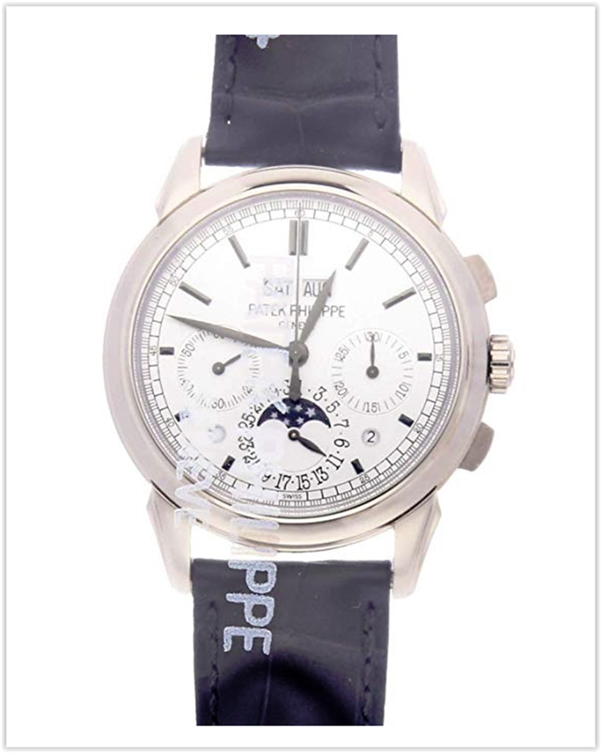 Patek Philippe Grand Complications Mechanical (Hand-Winding) Silver Dial Men's Watch 5270G-001best price