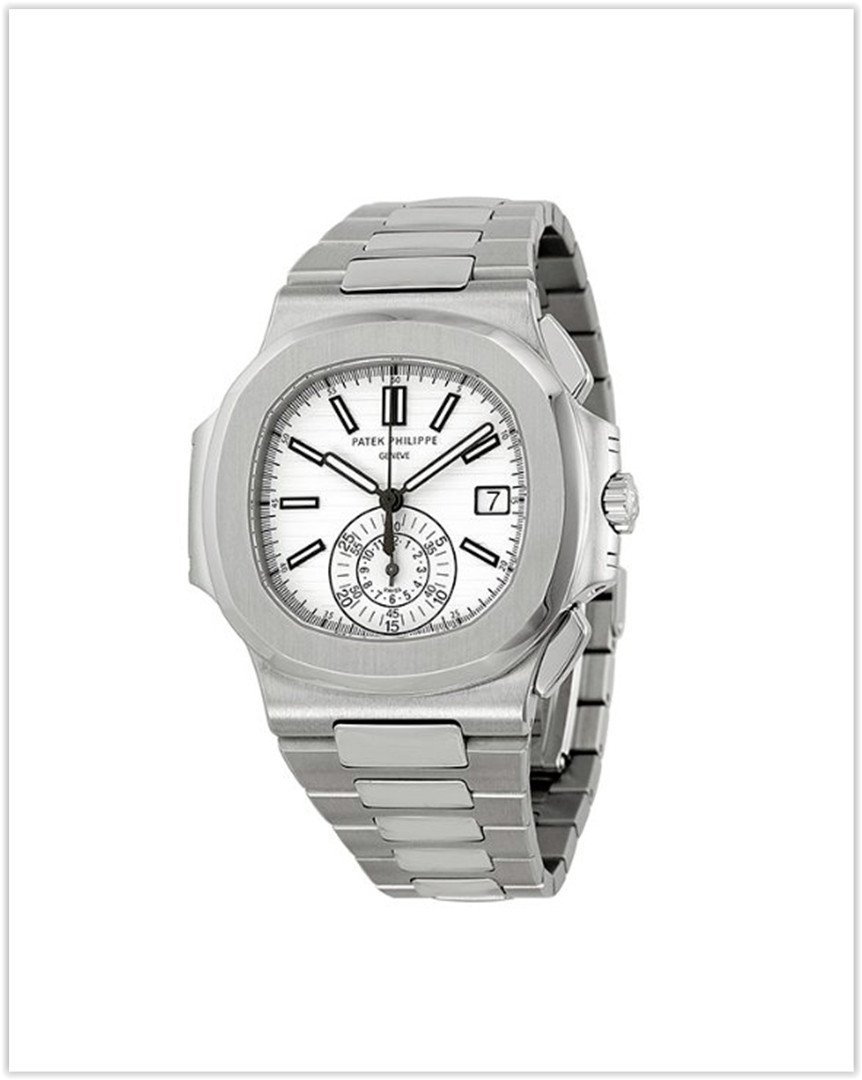 Patek Philippe Nautilus Silver Dial Stainless Steel Men's Watch best price
