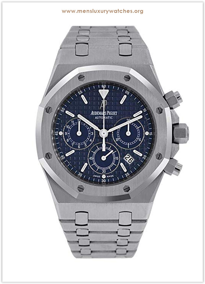 Audemars Piguet Royal Oak Chronograph 39mm Dark Blue Dial Men's Watch the best price