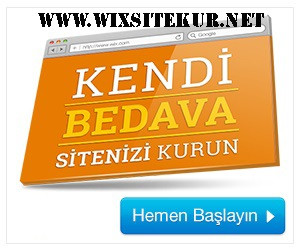 Wix kolay web site kurulum video anlatım