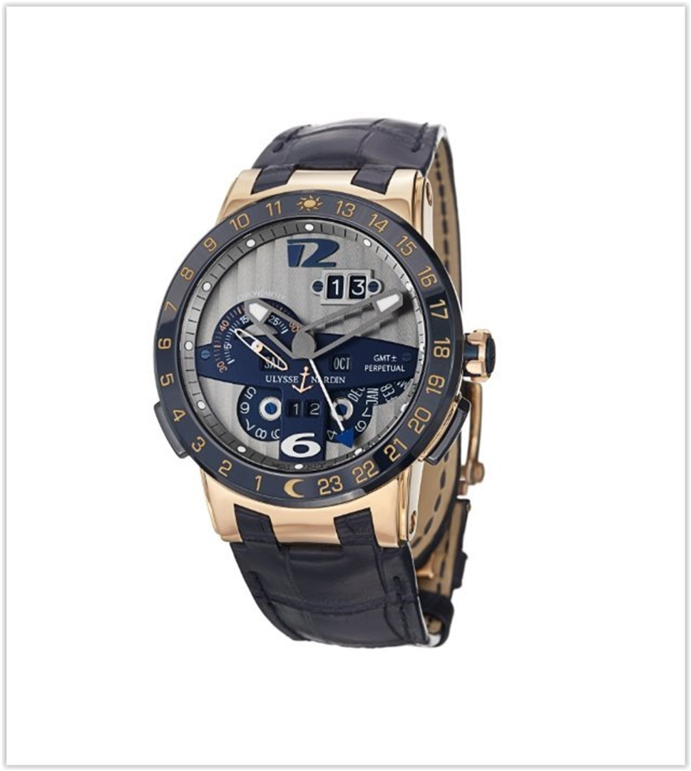 Ulysse Nardin El Toro Men's Rose Gold Automatic Perpetual Calendar Watch