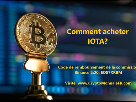 Comment acheter IOTA Coin?