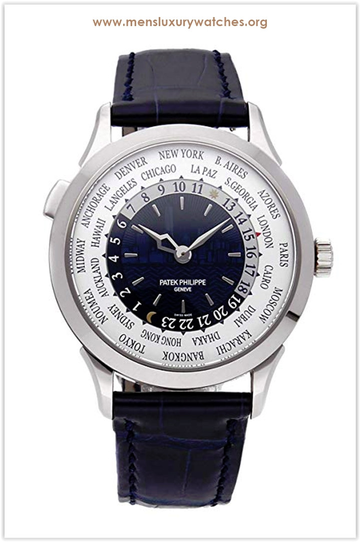 Patek Philippe Complications Mechanical (Automatic) Blue Dial Men's Watch 5230G-010 the best price