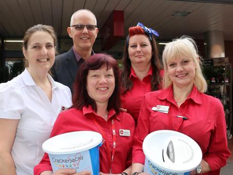 Fundraising Day at Wilko Kidderminster
