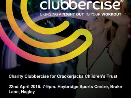 Charity Clubbercise 22nd April - Haybridge Sports Centre