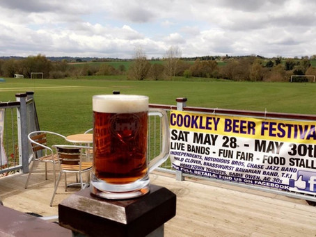 Cookley Beer Festival supports Crackerjacks
