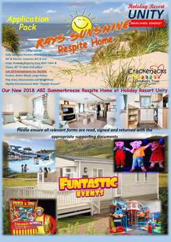 Holiday Home Application Cover Page
