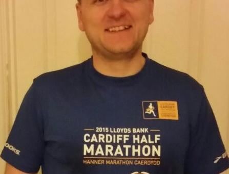 Marathon Man in 4 hrs 21 mins  12 secs