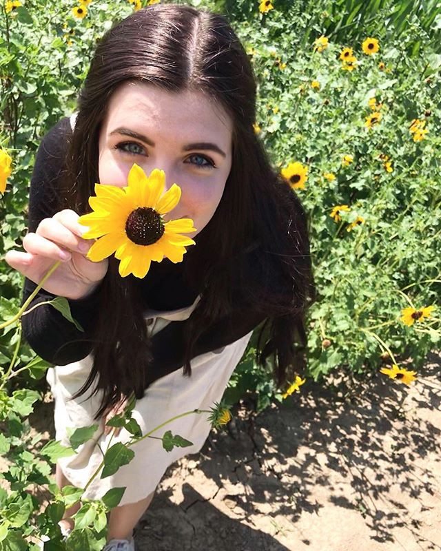 Had so much fun today at the sunflower g