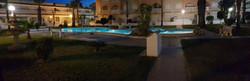 Pool1 at night
