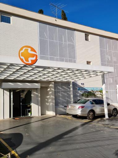 Fachada Hospital Ortopédico de Londrina
