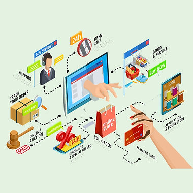 Ecommecrce managment services in kanpur.