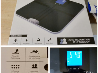 Product review: Eat Smart Products Precision Get Fit Digital Body Fat Scale with Auto Recognition Te