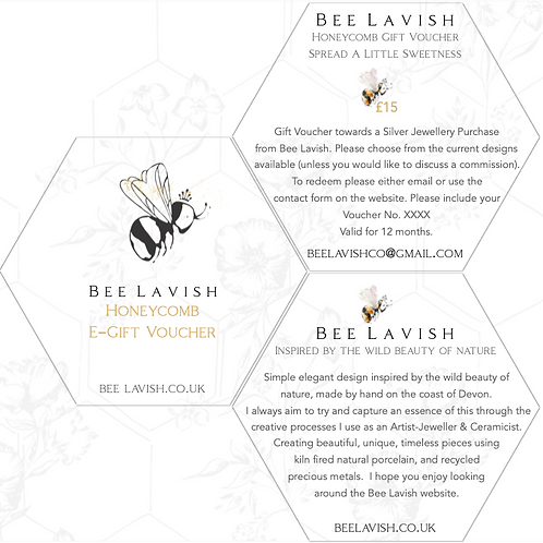 E-Gift - Honeycomb Bee Lavish Gift Voucher