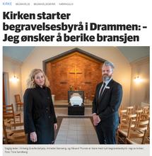 Kirken starter eget byrå