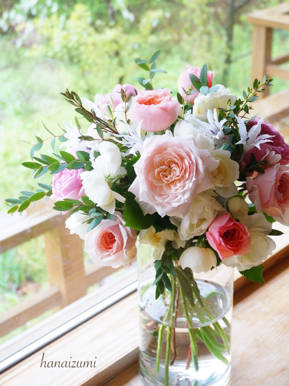 RoseFarmKEIJI 和ばら花束