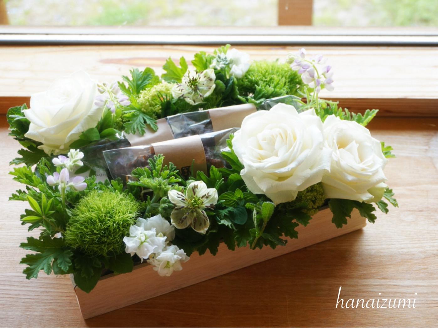 お菓子とお花のGiftbox