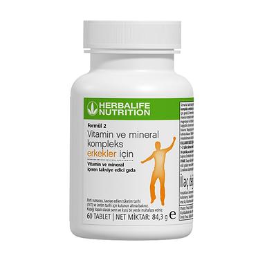 Formül 2 Vitamin Kompleks Erkekler için 60 Tablet