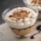 mousse, chantilly,caffè