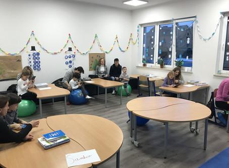 Uczniowie podsumowali pierwsze półrocze swojej pracy