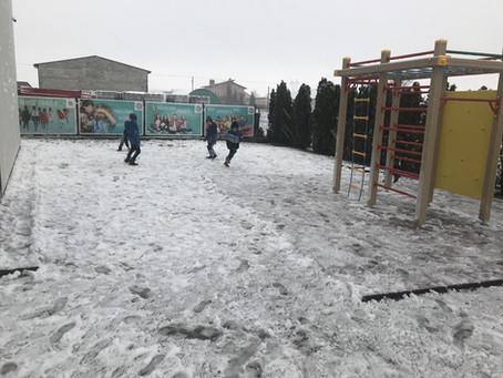 Pierwszy śnieg ......