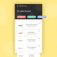 Daily UI #050: Job listing