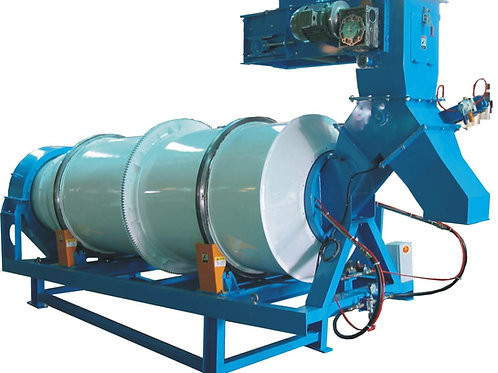 Fat Spray System  Fat Coater - Rotating Drum Coater