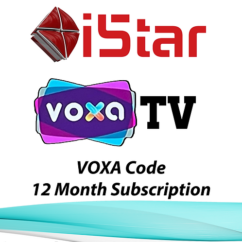 VOXA TV CODE, 12 Month Subscription