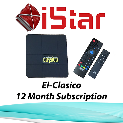 El-Clasico BOX, 12 Month Subscription