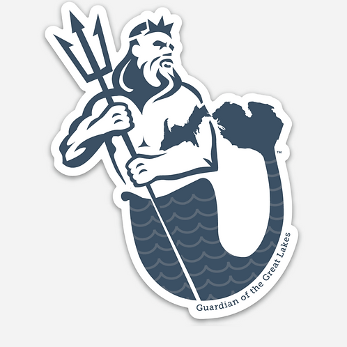 Guardian of the Great Lakes Clear Stickers