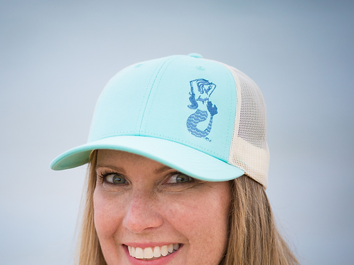 Mermaids of Michigan Low Profile Trucker Cap