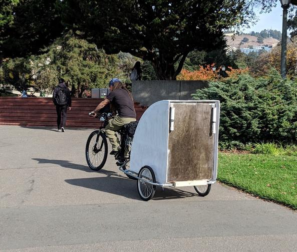 Bike Trailer Shelter