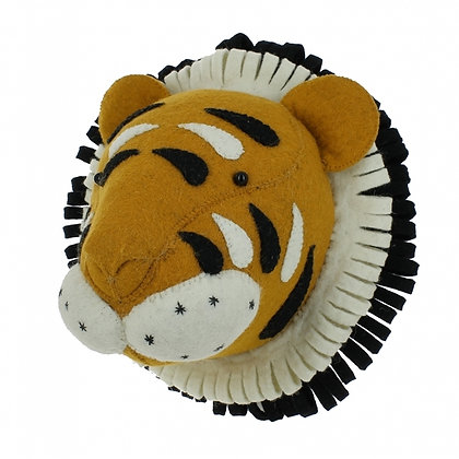 Fiona Walker Felt Tiger Head