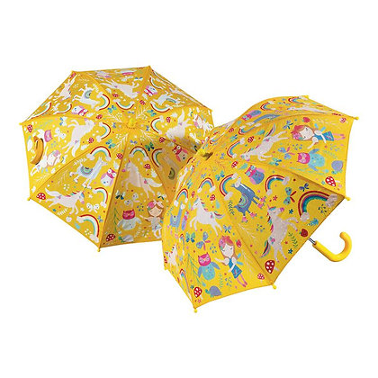 Floss and Rock, Colour Changing Umbrella- Rainbow Fairy