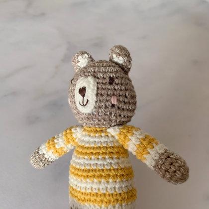 Albetta Crochet Bear Rattle