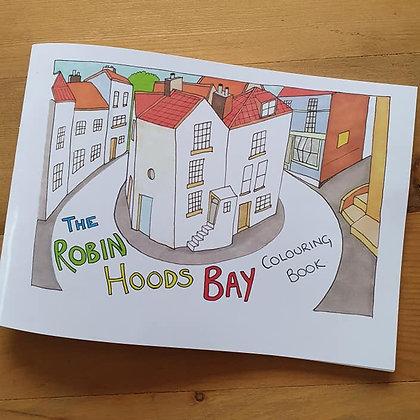 Robin Hoods Bay Colouring Book