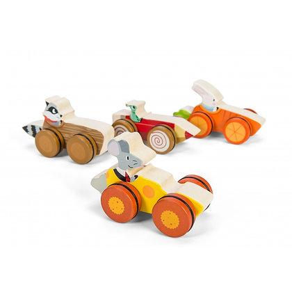Le Toy Van Woodland Racers