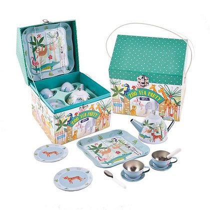 Floss and Rock Zoo Tea Party Set
