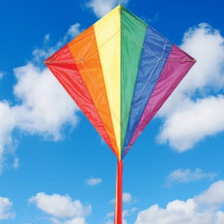 Spirit of Air- Rainbow Kite